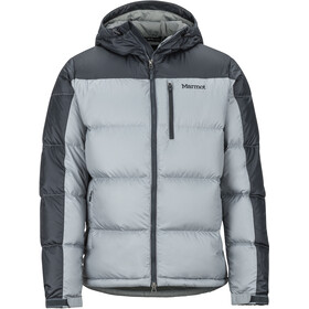 Marmot Guides Down Hoodie Men grey storm/dark steel